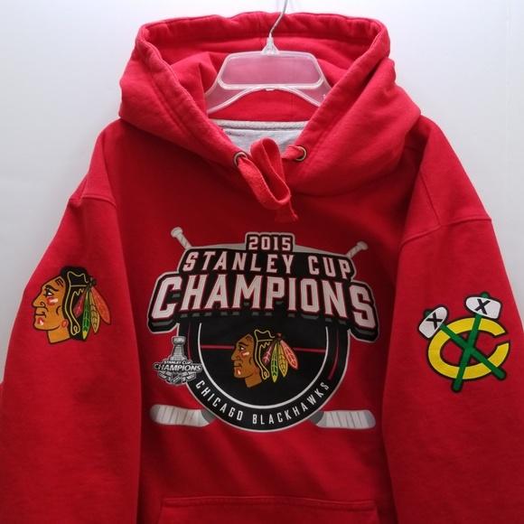 75f99a18c3d NHL CHICAGO BLACKHAWKS MEN S HOODIE JACKET. M 5bef710c6197455fb24c5d6a